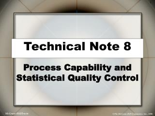 Technical Note 8