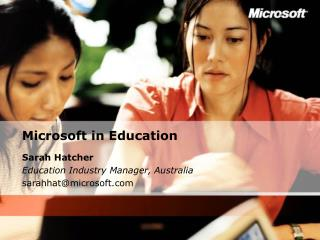 Microsoft in Education