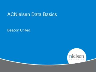 ACNielsen Data Basics
