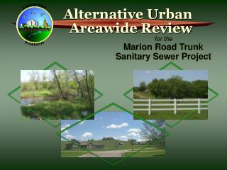 for the Marion Road Trunk Sanitary Sewer Project