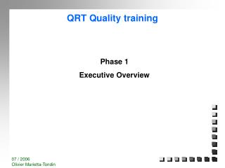 QRT Quality training