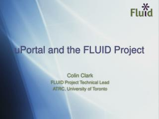 uPortal and the FLUID Project