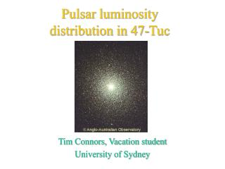 Pulsar luminosity distribution in 47-Tuc