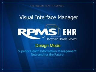 Visual Interface Manager