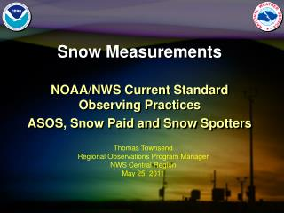 Snow Measurements