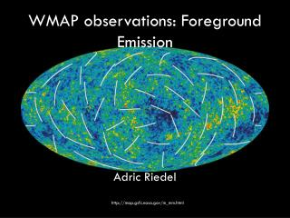 WMAP observations: Foreground Emission