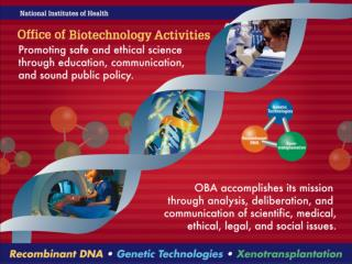 NIH Office of Biotechnology Activities