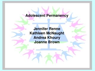 Adolescent Permanency Jennifer Renne  Kathleen McNaught Andrea Khoury Joanne Brown