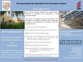Pioneering fire protection through innovation and professionalism