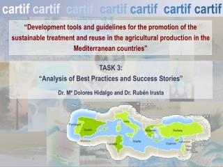 """""""Development tools and guidelines for the promotion of the sustainable treatment and reuse in the agricultural productio"""