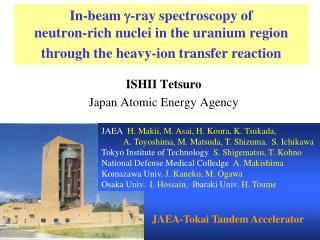 ISHII Tetsuro Japan Atomic Energy Agency