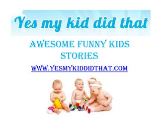 Things My Kids Say in School - www.yesmykiddidthat.com