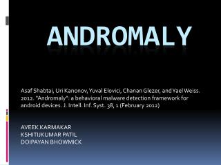 andromaly