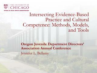 Intersecting Evidence-Based Practice and Cultural Competence: Methods, Models, and Tools