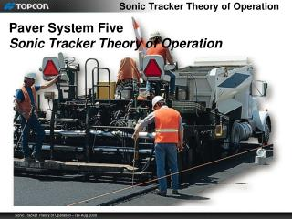 Sonic Tracker Theory of Operation