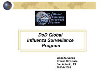 DoD Global  Influenza Surveillance  Program