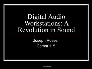 Digital Audio Workstations: A Revolution in Sound