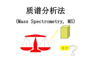 质谱分析法 (Mass Spectrometry, MS)
