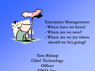 Enterprise Management: - Where have we been? - Where are we now? - Where are we (or where