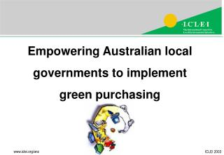 Empowering Australian local governments to implement green purchasing