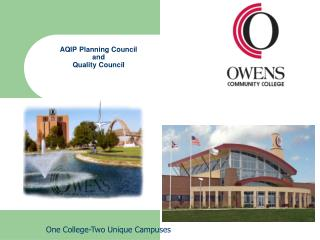AQIP Planning Council and Quality Council
