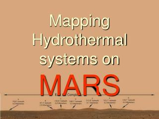 Mapping Hydrothermal systems on MARS