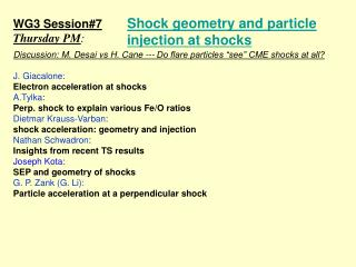 Shock geometry and particle injection at shocks