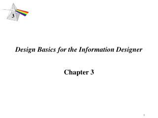 Design Basics for the Information Designer