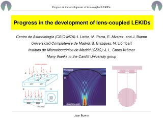 Progress in the development of lens-coupled LEKIDs