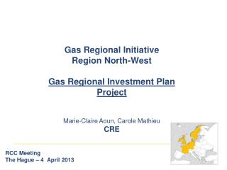 Gas Regional Initiative Region North-West Gas Regional Investment Plan Project