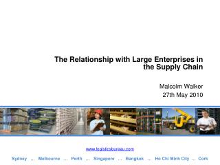 The Relationship with Large Enterprises in the Supply Chain
