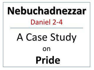 A Case Study  on Pride