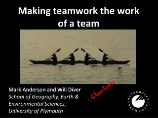 Making teamwork the work of a team