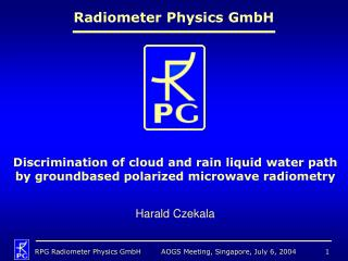 Discrimination of cloud and rain liquid water path by groundbased polarized microwave radiometry