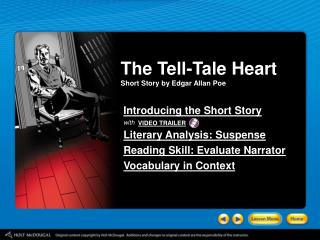 The Tell-Tale Heart Short Story by Edgar Allan Poe