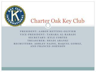 Charter Oak Key Club