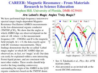 Are Lebed's Magic Angles Truly Magic?