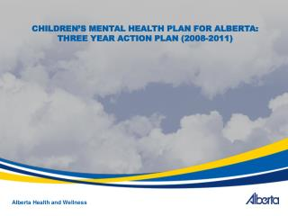 Alberta Health and Wellness