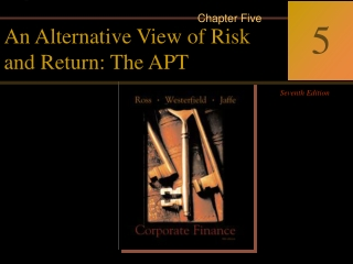 Risk  Return Chapter 11