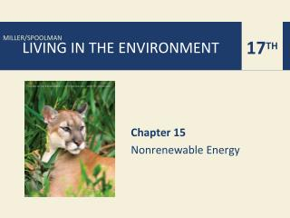 Chapter 15 Nonrenewable Energy