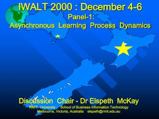 IWALT 2000 : December 4-6 Panel-1: Asynchronous  Learning  Process  Dynamics