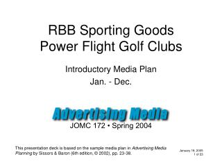 RBB Sporting Goods Power Flight Golf Clubs
