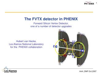 The FVTX detector in PHENIX