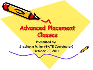 Advanced Placement  Classes