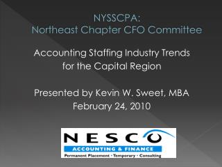 NYSSCPA:  Northeast Chapter CFO Committee