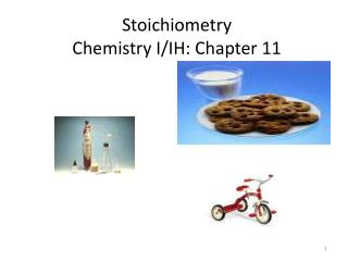 Stoichiometry Chemistry I/IH: Chapter 11