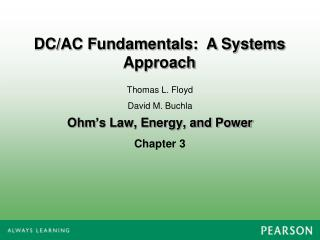 Ohm's Law, Energy, and Power