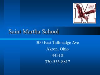 Saint Martha School