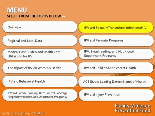 HIV Prevention and Mental Health Risk Factors in Perinatally HIV-Infected Adolescents: Research-Based Implications for I