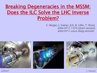 Breaking Degeneracies in the MSSM: Does the ILC Solve the LHC Inverse Problem?